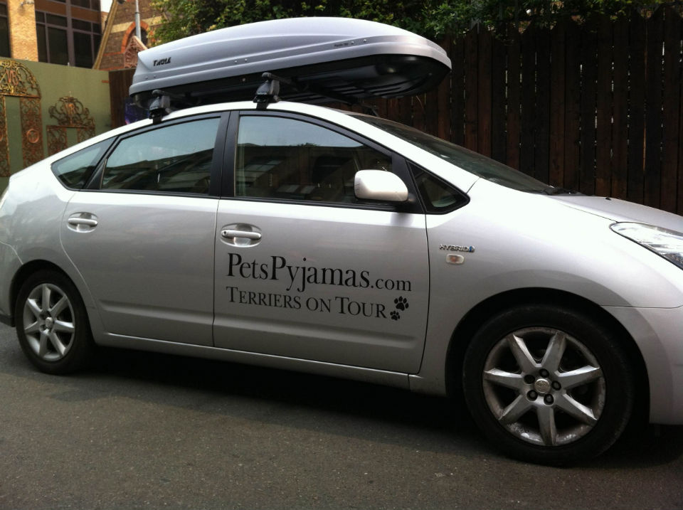 Terriers on Tour car