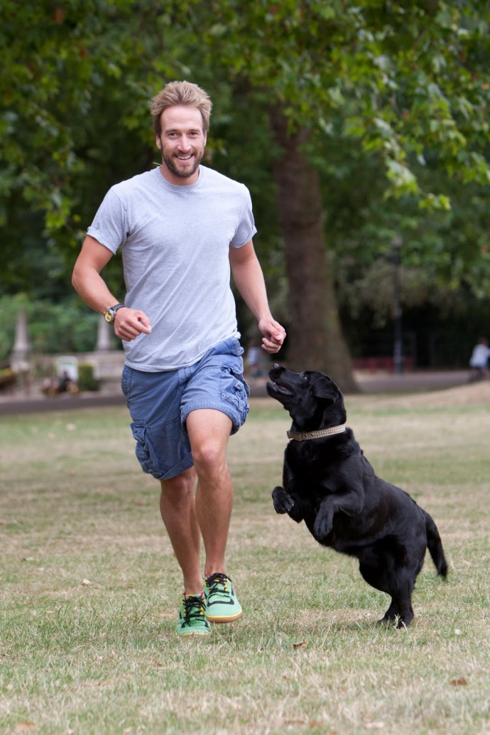 Ben Fogle and Lola - Active2_solent