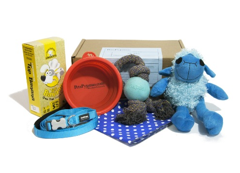 lifestyle--dogs--gifts-for-pets--petspyjamas--puppy-love-treat-box-blue--ppj-00137--0