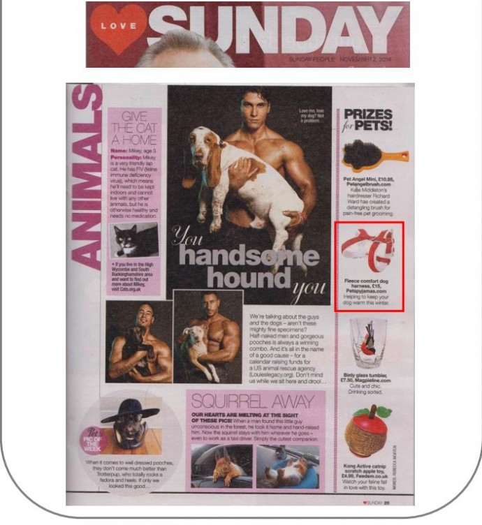 Sunday People 2nd Nov