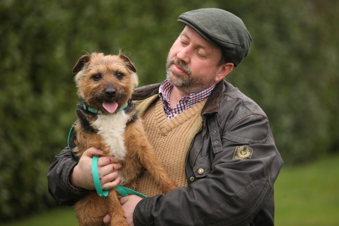 Brad with his owner Neil Amos