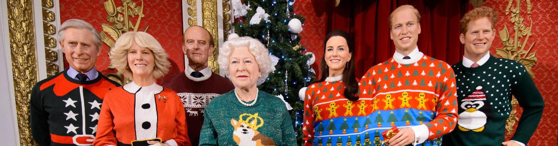 PetsPyjamas sweater-wearing Corgis join The Royal Family waxworks ...