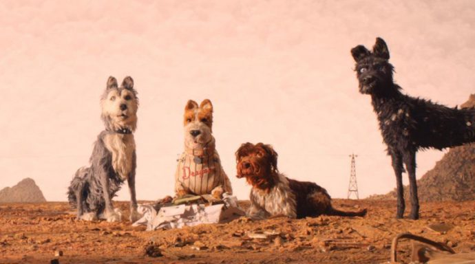 Isle of Dogs the gang